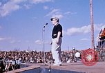 Image of Bob Hope show Pleiku South Vietnam Camp Enari, 1967, second 8 stock footage video 65675025970