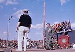 Image of Bob Hope show Pleiku South Vietnam Camp Enari, 1967, second 10 stock footage video 65675025970