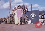 Image of Bob Hope show Pleiku South Vietnam Camp Enari, 1967, second 4 stock footage video 65675025975