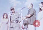 Image of Bob Hope show Pleiku South Vietnam Camp Enari, 1967, second 1 stock footage video 65675025976