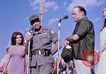 Image of Bob Hope show Pleiku South Vietnam Camp Enari, 1967, second 2 stock footage video 65675025976