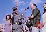 Image of Bob Hope show Pleiku South Vietnam Camp Enari, 1967, second 3 stock footage video 65675025976