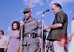 Image of Bob Hope show Pleiku South Vietnam Camp Enari, 1967, second 4 stock footage video 65675025976