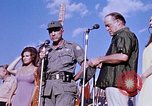 Image of Bob Hope show Pleiku South Vietnam Camp Enari, 1967, second 5 stock footage video 65675025976