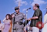 Image of Bob Hope show Pleiku South Vietnam Camp Enari, 1967, second 6 stock footage video 65675025976