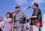 Image of Bob Hope show Pleiku South Vietnam Camp Enari, 1967, second 7 stock footage video 65675025976