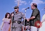 Image of Bob Hope show Pleiku South Vietnam Camp Enari, 1967, second 8 stock footage video 65675025976