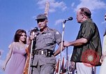 Image of Bob Hope show Pleiku South Vietnam Camp Enari, 1967, second 9 stock footage video 65675025976