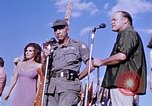 Image of Bob Hope show Pleiku South Vietnam Camp Enari, 1967, second 10 stock footage video 65675025976
