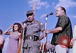 Image of Bob Hope show Pleiku South Vietnam Camp Enari, 1967, second 11 stock footage video 65675025976