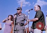 Image of Bob Hope show Pleiku South Vietnam Camp Enari, 1967, second 12 stock footage video 65675025976