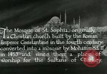 Image of Saint Sophia mosque Istanbul Turkey, 1922, second 5 stock footage video 65675025987