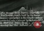 Image of Saint Sophia mosque Istanbul Turkey, 1922, second 8 stock footage video 65675025987
