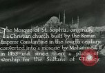 Image of Saint Sophia mosque Istanbul Turkey, 1922, second 10 stock footage video 65675025987