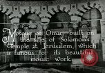 Image of sailors visit Jerusalem Palestine, 1922, second 5 stock footage video 65675025993