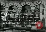 Image of sailors visit Jerusalem Palestine, 1922, second 6 stock footage video 65675025993