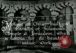 Image of sailors visit Jerusalem Palestine, 1922, second 9 stock footage video 65675025993