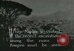 Image of sailors visit Naples Italy, 1922, second 6 stock footage video 65675025996