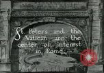 Image of sailors visit Vatican City Rome Italy, 1922, second 1 stock footage video 65675025999