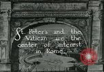 Image of sailors visit Vatican City Rome Italy, 1922, second 4 stock footage video 65675025999