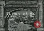 Image of sailors visit Vatican City Rome Italy, 1922, second 5 stock footage video 65675025999