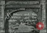Image of sailors visit Vatican City Rome Italy, 1922, second 6 stock footage video 65675025999