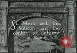 Image of sailors visit Vatican City Rome Italy, 1922, second 7 stock footage video 65675025999