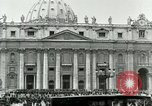 Image of sailors visit Vatican City Rome Italy, 1922, second 10 stock footage video 65675025999