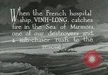 Image of USS Bainbridge rescues hospital ship Vinh-Long Europe, 1922, second 8 stock footage video 65675026004