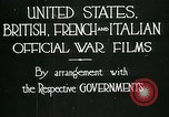 Image of italian troops defensive positions World War I Italy, 1918, second 8 stock footage video 65675026011