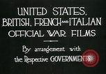 Image of italian troops defensive positions World War I Italy, 1918, second 9 stock footage video 65675026011