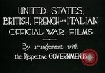 Image of italian troops defensive positions World War I Italy, 1918, second 11 stock footage video 65675026011