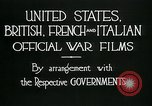 Image of italian troops defensive positions World War I Italy, 1918, second 12 stock footage video 65675026011