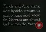 Image of Entrenched French soldiers on the Marne line France, 1918, second 2 stock footage video 65675026012