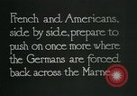 Image of Entrenched French soldiers on the Marne line France, 1918, second 3 stock footage video 65675026012