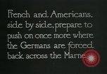 Image of Entrenched French soldiers on the Marne line France, 1918, second 4 stock footage video 65675026012