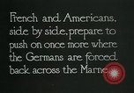 Image of Entrenched French soldiers on the Marne line France, 1918, second 5 stock footage video 65675026012