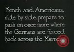 Image of Entrenched French soldiers on the Marne line France, 1918, second 7 stock footage video 65675026012