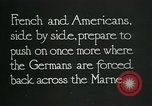 Image of Entrenched French soldiers on the Marne line France, 1918, second 8 stock footage video 65675026012