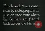 Image of Entrenched French soldiers on the Marne line France, 1918, second 10 stock footage video 65675026012