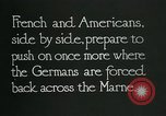 Image of Entrenched French soldiers on the Marne line France, 1918, second 11 stock footage video 65675026012