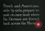 Image of Entrenched French soldiers on the Marne line France, 1918, second 12 stock footage video 65675026012