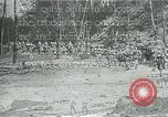 Image of British military engineers build a railroad line Palestine, 1917, second 1 stock footage video 65675026013