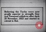 Image of retreat to Kut Iraq, 1915, second 1 stock footage video 65675026026