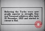 Image of retreat to Kut Iraq, 1915, second 6 stock footage video 65675026026