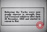Image of retreat to Kut Iraq, 1915, second 7 stock footage video 65675026026