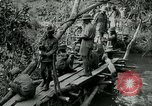 Image of British forces build a bridge across Wami River Tanzania East Africa, 1918, second 6 stock footage video 65675026031