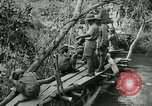 Image of British forces build a bridge across Wami River Tanzania East Africa, 1918, second 9 stock footage video 65675026031