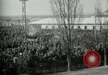 Image of Italian prisoners of war assembled after battle of Caporetto Italy, 1917, second 10 stock footage video 65675026032