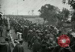 Image of Surrendering Italian troops after battle of Caporetto Italy, 1917, second 9 stock footage video 65675026033